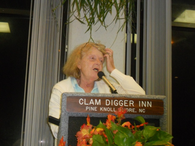 Anne Doolen at Clam Digger Inn Hotel Outerbanks Conference 2010